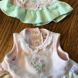Little Me Dresses - Dress and hat for baby girl